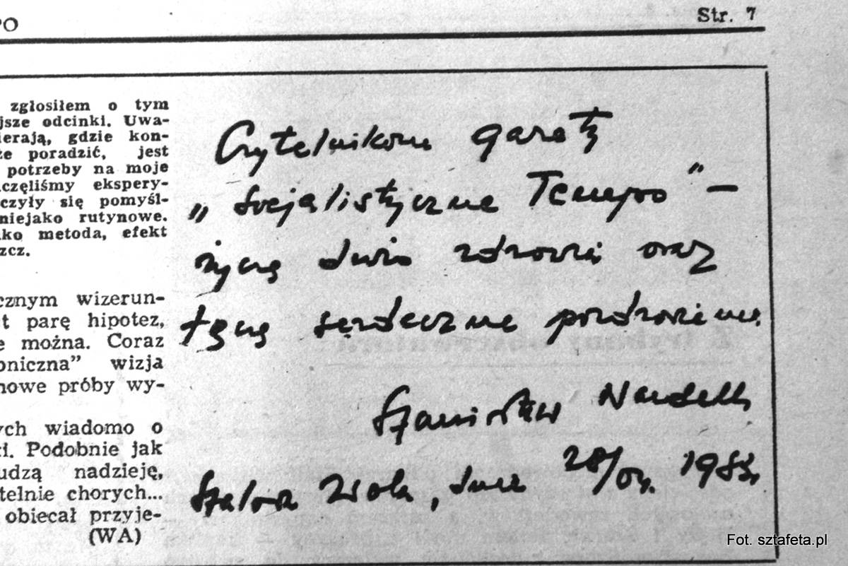 Ręce, które leczyły. Stanisława Nardellego stalowowolskie przypadki Sztafeta.pl