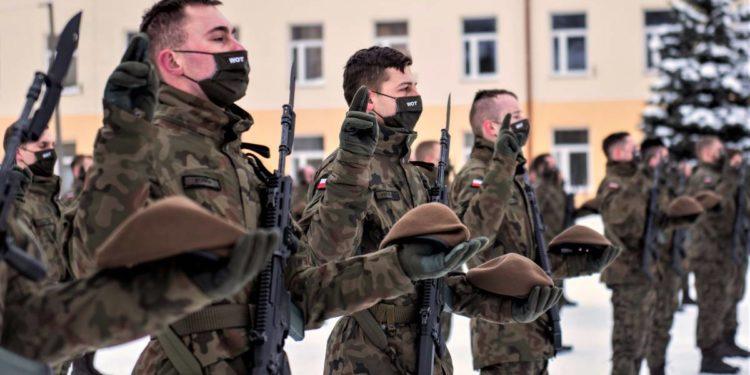 Nowi terytorialsi złożyli przysięgę Sztafeta.pl