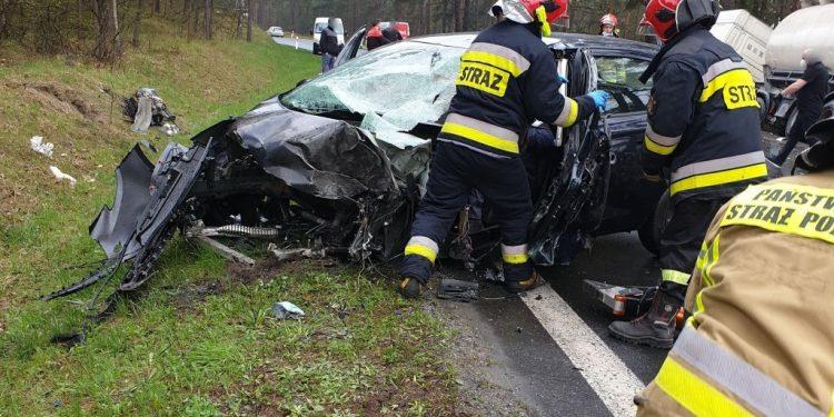 W zderzeniu ciężarówki z osobówką ucierpiał 47-latek Sztafeta.pl