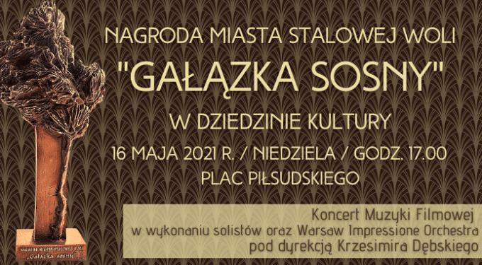 """16 maja w Stalowej Woli poznamy laureatów """"Gałązki Sosny"""" Sztafeta.pl"""
