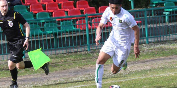 Drugą bramkę dla Stali w zremisowanym meczu z Polonią, zdobył Harrison Perea Espana
