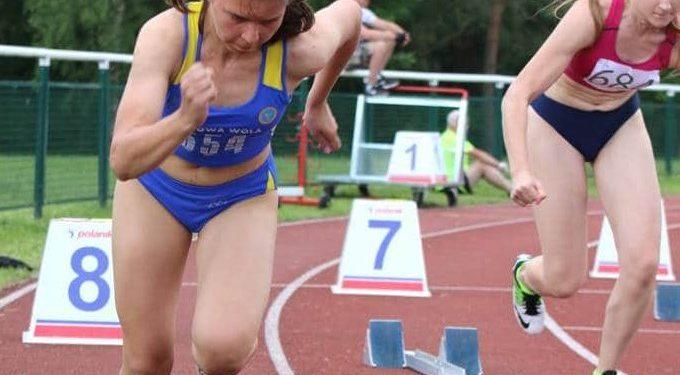Małgorzata Strzelec wywalczyła w Przemyślu mistrzostwo województwa w biegu na 100 m i wicemistrzostwo w biegu na 200 m