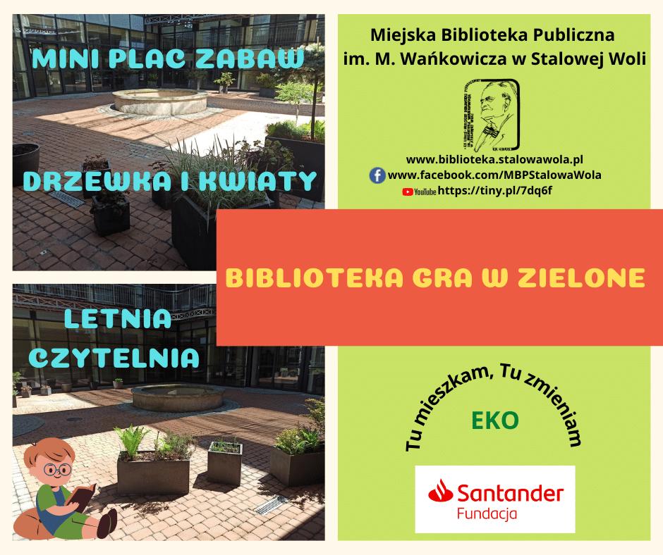 Bibliotekarze ze Stalowej Woli chcą urządzić patio Sztafeta.pl