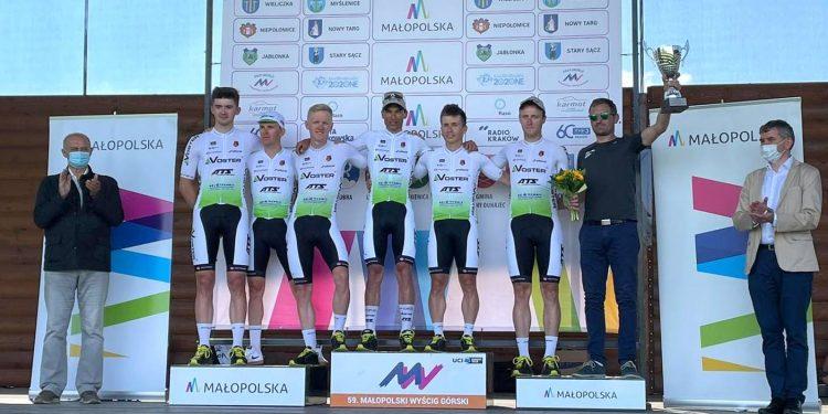 Voster ATS Team najlepszą drużyną Małopolskiego Wyścigu Górskiego  Fot. faceboook/Voster ATS Team