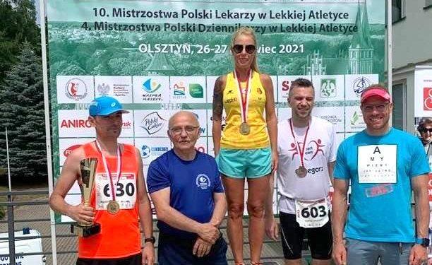Justyna Zaorska dorzuciła w tym roku do swojej medalowej kolekcji kolejny krążek mistrzostw Polski Lekarzy. Złoty!