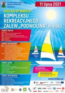 Zalew Podwolina. Już 11 lipca wielkie otwarcie kompleksu rekreacyjnego Sztafeta.pl