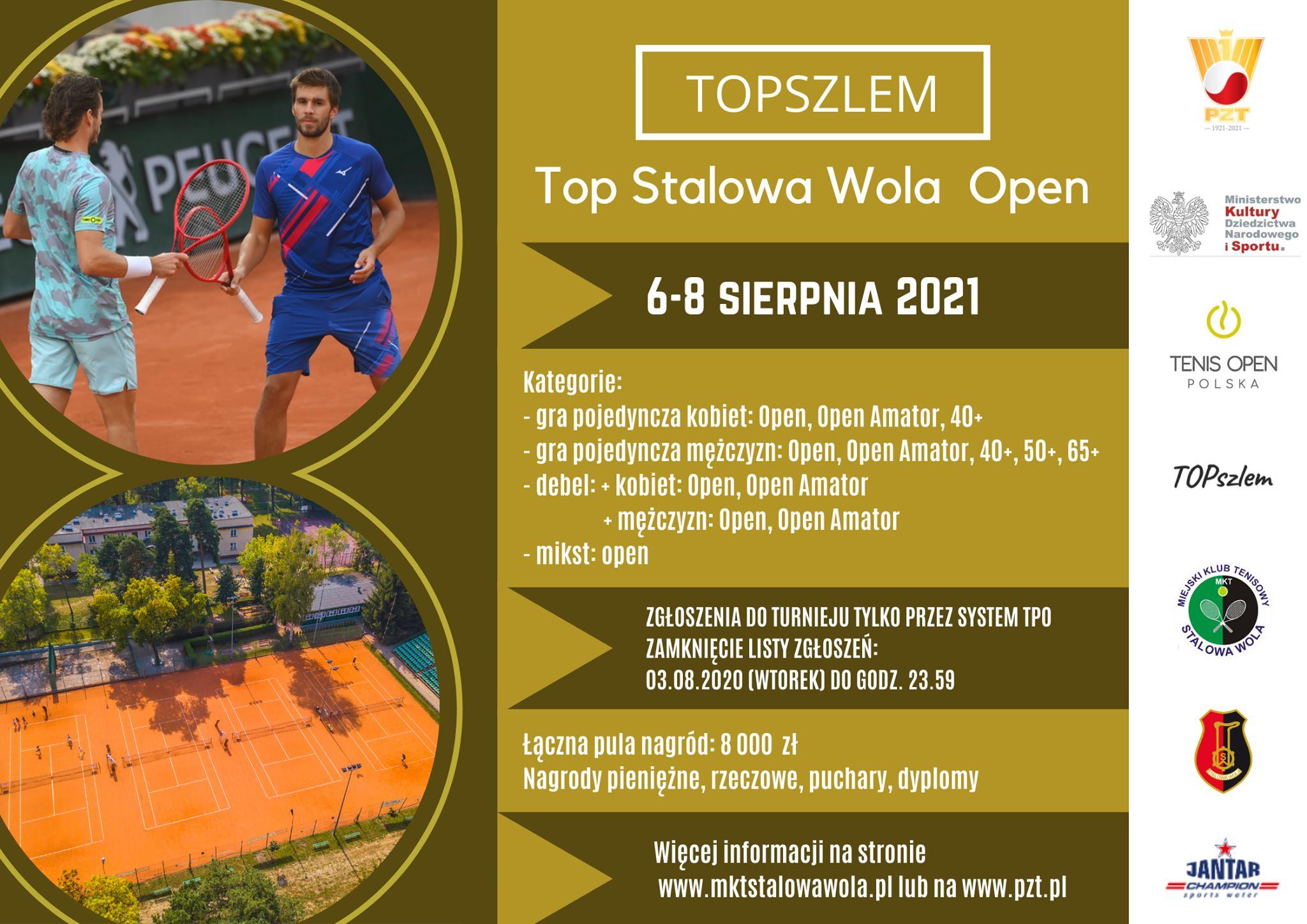 Tenis. Top Stalowa Wola Open