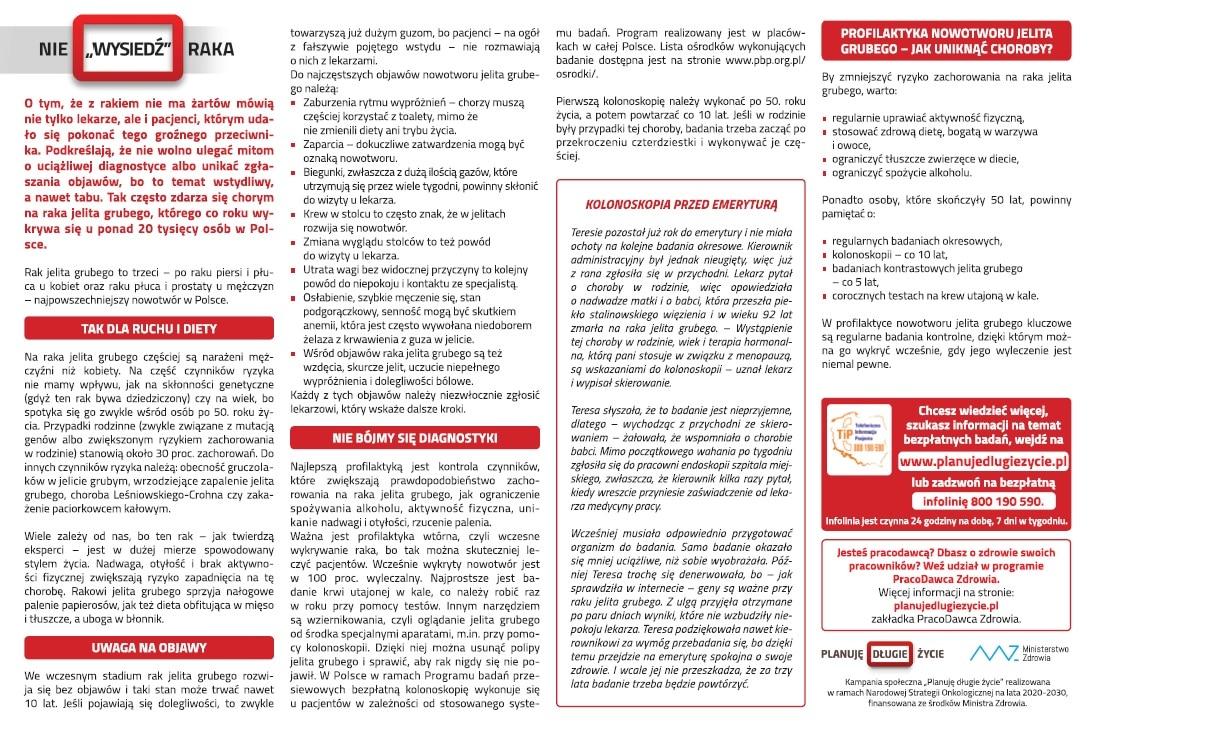 Ministerstwo Zdrowia - Planuję długie życie Sztafeta.pl