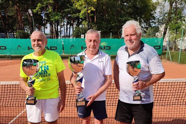 Tenis. Wdowiak, Krzykwa i Pęzioł zwycięzcami ostatniego letniego Grand Prix i Senior Cup Master